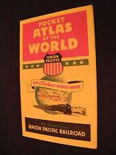 POCKET ATLAS OF THE WORLD UNION PACIFIC RAILDOAD