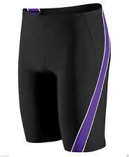 Speedo Boys Mercury SPL Jammer Swimsuit Waist BLK/PURPLE Sizes 20-28
