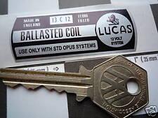 Lucas Classico Auto ballasted BOBINA ADESIVO no0709-1