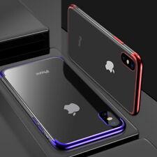 Handy Hülle Apple iPhone 6 7 8 Xr Xs Case Cover Schutz Tasche Bumper + Glas 9H