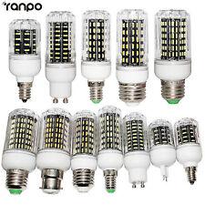 LED Corn Light Bulbs E26 E27 E12 E14 G9 GU10 10W 20W 25W 30W 4014 SMD White Lamp