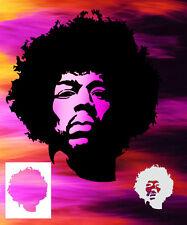 Jimi Hendrix Airbrush Stencil Spray Vision Best Character Designs!