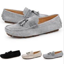 Korean Men's Driving Moccasin-gommino Pumps Loafers Slip on Flats Tassel Shoes