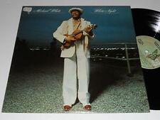 MICHAEL WHITE White Night M- Elektra 6E-183 album vinyl Mint Minus