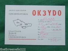 QSL RADIO CARD - OK3YDO - CZECHOSLOVAKIA - 4 NOV 1972