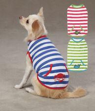 Dog Tank Top T-Shirt Beachcomber Zack & Zoey stripes Pet Shirts