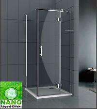 Neu Duschkabine Duschabtrennung Dusche Bad Duschwand 8 mm Nano Echtglas WN