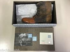 MOMA Stiefel Stiefeletten Boot Boots Biker Damen Women Gr. 37 38 Leder 79302 -V5
