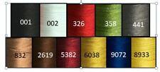 Gudebrod 100% Silk Rod Winding Thread, Size 00 Choice of 11 Colors 100 Yd Spools