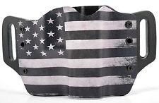 Black & White USA OWB Kydex Holster For Glock