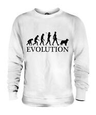 AUSTRALIAN SHEPHERD EVOLUTION OF MAN UNISEX SWEATER MENS WOMENS LADIES DOG GIFT