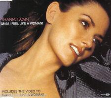 SHANIA TWAIN - Man! I Feel Like A Woman (UK 4 Tk Enh CD Single Pt 1)