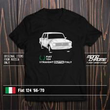 T-shirt Fiat 124 '66-'70