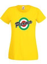 T-shirt Maglietta donna J1451 Parma Coppa Italia Vintage Retro Calcio