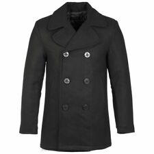 Highlander Pea Coat Black