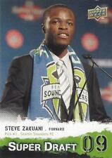 2009 Upper Deck Major League Soccer 'Super Draft '09' Card Different Variations