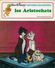 BD DEUX COQS D'OR--WALT DISNEY--HISTOIRES ENCHANTEES / LES ARISTOCHATS--1979