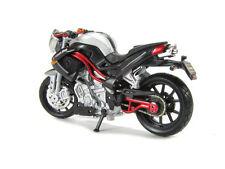 BURAGO 1/18 MOTO BENELLI titanium grise noire et rouge bordeaux tnt !!!