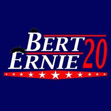 Burt and Ernie -Election tee - www.shirtdorks.com