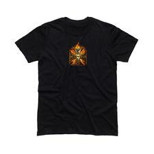 WEST COAST CHOPPERS WCC In Flames T-shirt manica corta - Nero