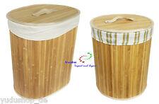 Cesta de bambú Laundry BASKET Ropa lavado Caja almacenamiento