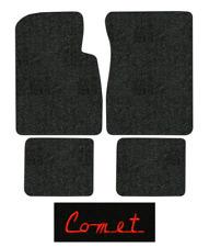 1963-1965 Mercury Comet Floor Mats - 4pc - Loop | Fits: 2DR, 4DR, Hardtop, Sedan