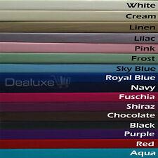 Standard Pillowcase Pillow Case - Percale - 225TC - Cotton Polyester - 48x73cm