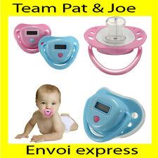 Tetine plate Thermometre De Température Avec Sucette Pour Bébé Garçon ou Fille