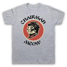 Presidente Meow Gato Divertido Comedia Parodia Mao broma juego de palabras para hombres Para mujeres Camiseta Niños