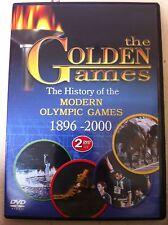 Golden JUEGOS: History of the Modern olimpiadas juegos raro disco 2GB REGIÓN 2