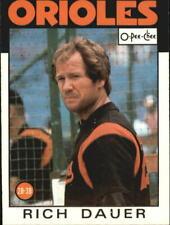 1986 O-Pee-Chee Baseball Card #s 251-396 - You Pick - Buy 10+ cards FREE SHIP