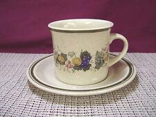 Royal Doulton China Harvest Garland LS1018 Pattern Cup & Saucer Set
