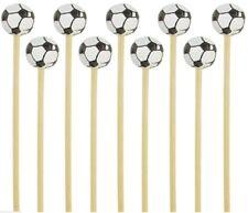 Soccer Ball Sport Skewers Picks BambooMN Wholesale