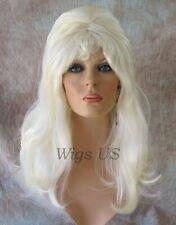 Long Wig 1960s Beehive Costume Bangs Hairspray Drag Cone Inside Wigs US Seller