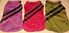 Reflective Dog Sport Coat -Water Resistant -Fleece Int -Pink L/XL -Good2Go -NWT