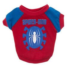 Marvel Comics SPIDER-MAN DOG & CAT TEE SHIRT - Pet Hero Clothing XS, S, M, L, XL