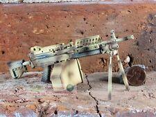 MK46 Mod 0 1:6 Figure Para Stock Camouflage M249 Light Machine Gun Model MK46_F