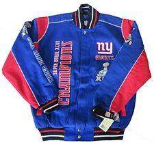 NFL New York Giants Superbowl Champions Jacket - New 2016 Design