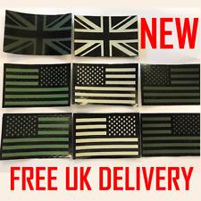 UK IR Flag Patch union jack UKSF SAS SBS american Army Infrared US Navy Seals