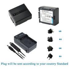 CGA-DU07 Battery / Charger for Panasonic NV-GS258GK NV-GS250EG NV-GS250 NV-GS230