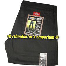 Dickies Girl AL874G Original Low Rider Mid Rise Straight Leg Pant Black