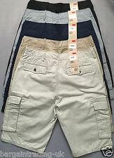 Levi's Cargo Mens Shorts %100 Genuine 6-Pocket Pure Cotton Herringbone Shorts