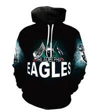 Hat hoodie Philadelphia Eagles Letter print Pullover Pocket  M-6XL hoodie 945