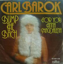 "7"" 1976 RARE ! CARL BAROK : Bump The Bach // MINT-? \"