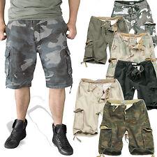 Surplus Herren Vintage Shorts Washed kurze Hose BW Tarn Cargo Outdoor 5596