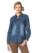 Tamaris Jeansbluse blue used. NEU!!! SALE%%%