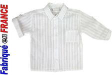 Chemise blanche Neuve de 3 mois à 2 ans Marque GHIMI