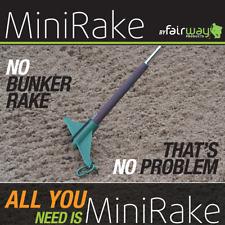 MINI-RAKE GOLF GRIP RAKE / PERSONAL GOLF RAKE THAT ATTACHES TO YOUR GOLF GRIP !!