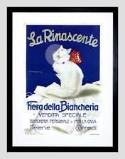 Pubblicità Abbigliamento Bellezza LA RINASCENTE Italia Milano Cat Framed Art Print b12x4151