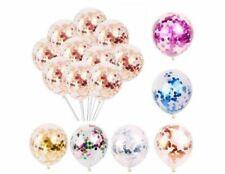 "10pcs 12"" Confetti Latex Balloons Helium Birthday Party Wedding Baby Shower Balo"